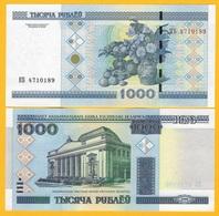 Belarus 1000 Rubles P-28b 2000 UNC Banknote - Belarus