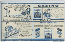 Buvard - Casino - Chocolat