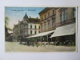 Romania/Brasov-Prefecture & Transylvania Cafe/Prefectura Si Cafeneaua Transylvania,1931 Mailed Postcard - Romania