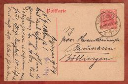 P 107 Germania, Goeppingen Nach Boeblingen 1919 (92168) - Deutschland