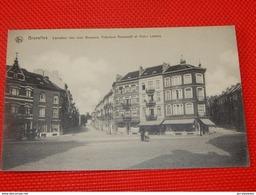 BRUXELLES -    Carrefour Des Rues Wappers, Théodore Roosevelt Et Victor Lefèvre - Avenues, Boulevards