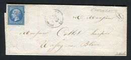 Rare Lettre De Chatonrupt Par Joinville Pour Wassy Sur Blaise ( 1860 ) - 1849-1876: Klassieke Periode