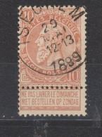 COB 57 Oblitération Centrale ISEGHEM - 1893-1900 Fine Barbe