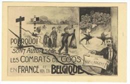 Hanekampen, Combats De Coqs France-Belgique - Animaux & Faune