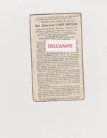 DOODSPRENTJE VANDEN DRIESSCHE ALFONS ECHTGENOOT FRANCKE ESEN LAMPERNISSE 1874 - 1940 - Imágenes Religiosas