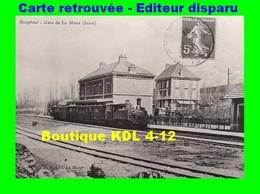 BVA 639-10 - Train En Gare - LA MURE - Isère - SGLM - La Mure