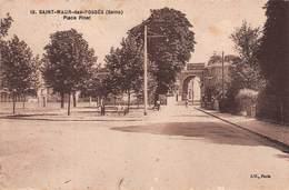 SAINT-MAUR-DES-FOSSÉS (94) - Place Pinet En 1935 - Éditions ELD - Saint Maur Des Fosses