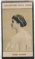 Rose Meunier-Caron, Chanteuse Opéra Née à Monnerville - Compagne De Clemenceau - Collection Photo Felix POTIN 1900 - Félix Potin