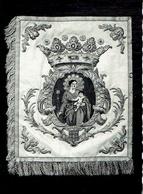 ALSEMBERG : O.L. Vrouwkerk - Vlagje Van Beenhouwers Van Brussel - Photo Véritable - Beersel