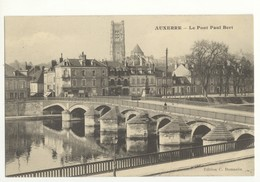 89/CPA - Auxerre - Le Pont Paul Bert - Auxerre