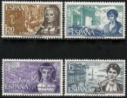 España. Spain. 1968. Personajes Españoles. Mujeres - 1931-Hoy: 2ª República - ... Juan Carlos I