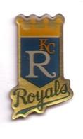 AA304 Pin's Baseball Team KC ROYALS Kansas City  Missouri  Usa Achat Immédiat - Baseball
