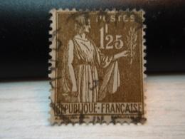 Timbre Type Paix 1F25  Y & T N° 287 - Oblitéré - - 1932-39 Paix