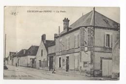 89/CPA - Courlon Sur Yonne - La Poste - Frankrijk
