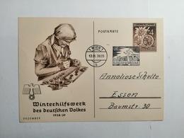Deutsches Reich  Postkarte Winterhilfswerk Des Deutschen Volkes - Allemagne