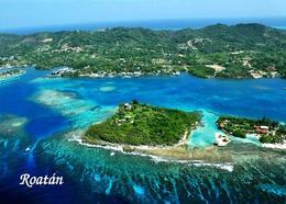 Honduras Roatan Aerial View New Postcard - Honduras