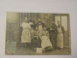 MEURTHE ET MOSELLE-CARTE PHOTO GOURAINCOURT LONGWY GREVES 1906-ANIMEE SELECTION - Sonstige Gemeinden