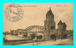 A823 / 403 MAINZ A. Rhein ( Cachet Marine Nationale Service à La Mer ) - Mainz