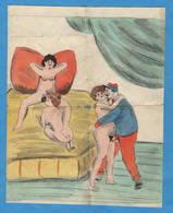 NUS Adultes - Dessin Pornographique Amateur Sur Papier - Dessins
