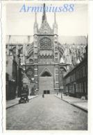 """Amiens Sous L'occupation - """"Juli 1941"""" - Cathédrale Notre-Dame - Portail De La Vierge Dorée - Wehrmacht - War, Military"""
