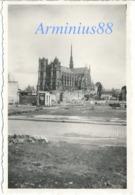 """Amiens Sous L'occupation - """"Juli 1941"""" - Vue Sur La Cathédrale Notre-Dame - Wehrmacht - War, Military"""