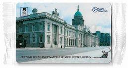 Isle Of Man - Chip - Customs House, Dublin - 1996, 5.000ex, NSB - Isola Di Man