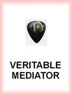 MEGADETH MEDIATOR Medium PLECTRUM Guitar Pick - Accessories & Sleeves