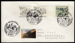 Germany Neuschonau 1970 / Nationalpark Bayerisher Wald, Bayerisher Forest Park - Cartas