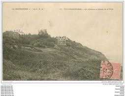 14 VILLERS-SUR-MER. Les Falaises 1904 - Villers Sur Mer