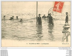 14 VILLERS-SUR-MER. La Baignade 1911 - Villers Sur Mer