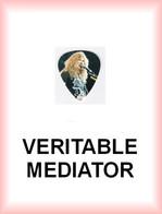 MEGADETH MEDIATOR Medium PLECTRUM Guitar Pick (en Concert) - Accesorios & Cubiertas