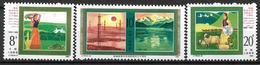 1985 China   Mi. 2033-5**MNH   30 Jahre Autonome Region Singkiang. - 1949 - ... République Populaire