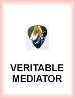 MEGADETH MEDIATOR Medium PLECTRUM Guitar Pick (guitare) - Accessories & Sleeves