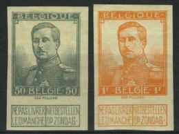 [A2354] België 115/16 *  - Koning Albert I - Roi Albert I - Pellens - Ongetand - Cote: € 57,50 - Belgique