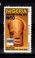 Nigeria, 2010- 2000 Years Of Nigerian Arts. Nok Terracotta. Kaduna, Kaduna State. NewNH. - Nigeria (1961-...)