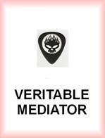 OFFSPRING MEDIATOR Medium PLECTRUM Guitar Pick TETE DE MORT - Accesorios & Cubiertas