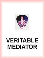 PRINCE MEDIATOR Medium PLECTRUM Guitar Pick - Accessories & Sleeves