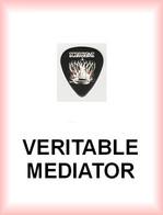 SCORPIONS MEDIATOR Medium PLECTRUM Guitar Pick (couronne) - Accessories & Sleeves