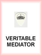 SCORPIONS MEDIATOR Medium PLECTRUM Guitar Pick (fond Blanc) - Accessories & Sleeves