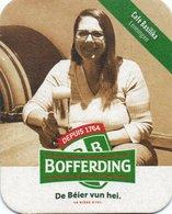 Sous-Bock Bière - Bofferding Bière Depuis 1764 - Café Basilika - Lenningen - Portavasos