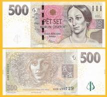 Czech Republic 500 Korun P-24 2009 UNC Banknote - Czech Republic