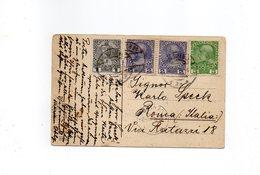 LAB767 - AUSTRIA IMPERO ,  Cartolina Viaggiata Per Roma (M2200) - Storia Postale