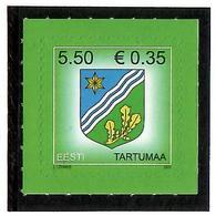 Estonia 2007 .COA Of Tartumaa. 1v: 5.50.  Michel # 590 - Estonie