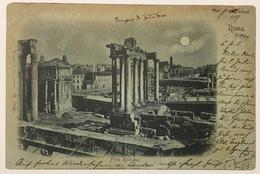 V 72436 - Roma - Tempio Di Saturno - Anno 1899 - Roma