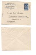 3073) AUGUSTO £1,25 ISOLATO LETTERA X GERMANIA AMBULANTE - Storia Postale