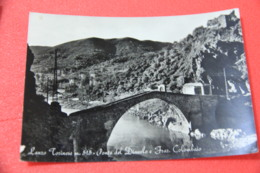 Torino Lanzo Torinese Ponte Del Diavolo 1962 - Italia