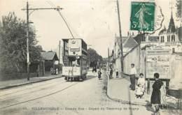 93 - VILLEMOMBLE - 10094 - Grande Rue - Départ Du Tramway - Villemomble