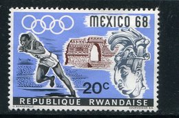 RWANDA- Y&T N°243- Neuf Avec Charnière * - Zomer 1968: Mexico-City