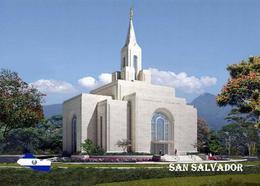 El Salvador San Salvador Mormon Temple New Postcard - Salvador
