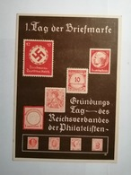Deutsches Reich  Postkarte Tag Der Briefmarke 1936 - Germany